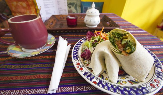 Vegan in Edinburgh, Scotland: Himalaya Cafe