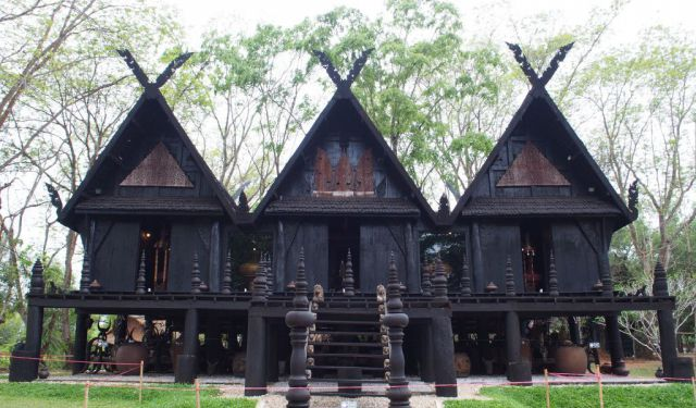 The Mysterious Black House of Chiang Rai