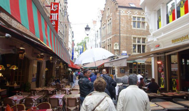 A Self - Guided Walking Tour of Brussels