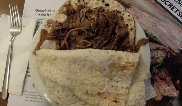 Traditional Doner Experience in Tatar Salim Restaurant, Istanbul