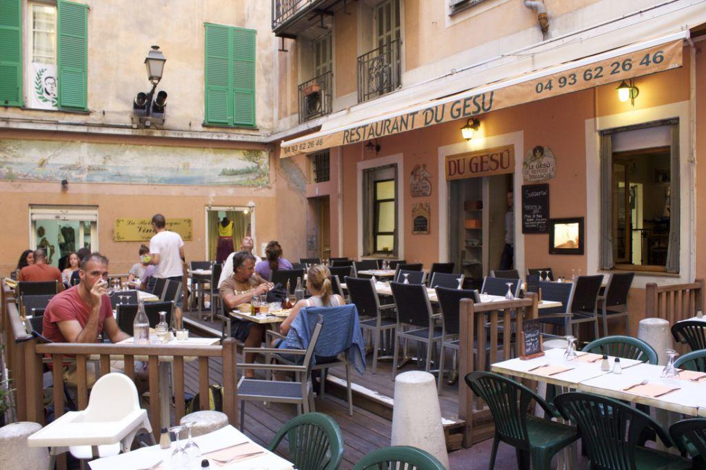 Vegan In Nice France Du Gesu Italian Restaurant