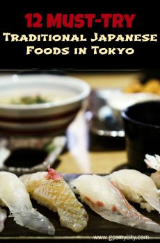 12 traditional japanese foods to taste in tokyo for Authentic japanese cuisine