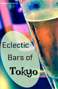 Eclectic Bars of Tokyo