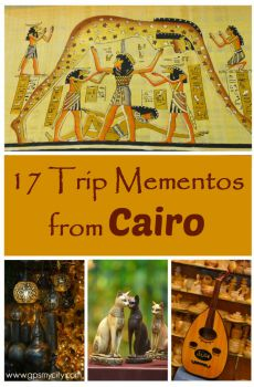 17 Trip Mementos from Cairo