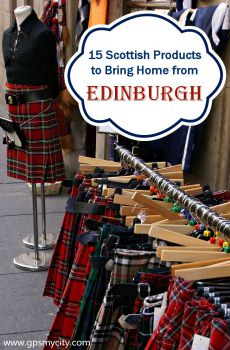 Souvenir Shopping Guide: 15 Scottish Products to Bring Home from Edinburgh