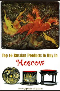 Top 16 Russian Products to Buy in Moscow