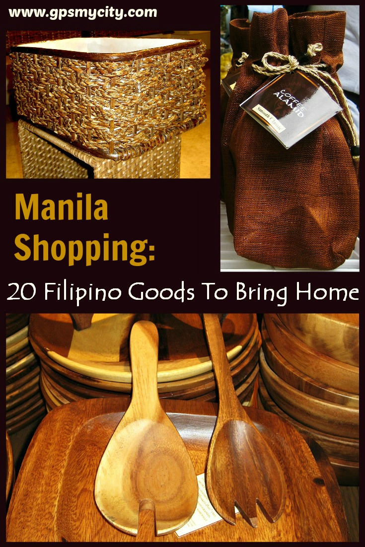manila shopping 20 filipino goods to bring home. Black Bedroom Furniture Sets. Home Design Ideas