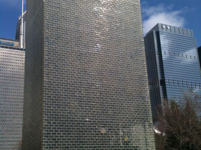 """The Crown Fountain"" by Jaume Plensa"