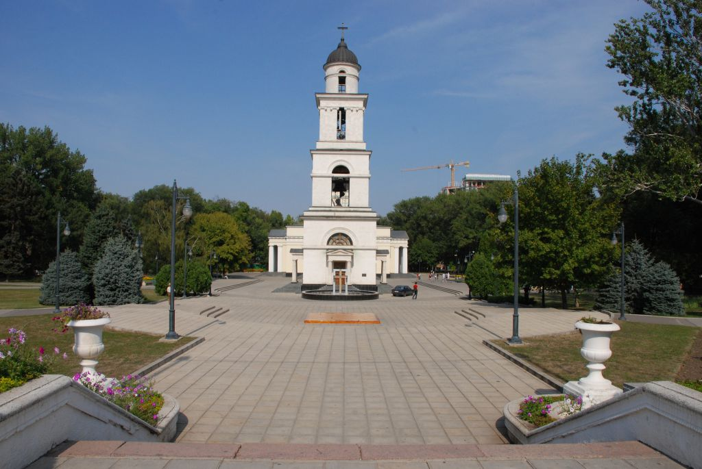 City Center Walk Chisinau Moldova