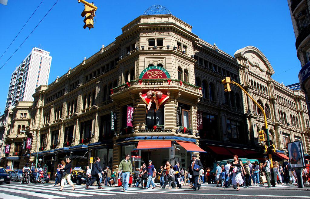Florida Street Area Shopping Buenos Aires Argentina