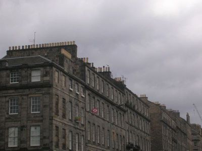 Dundas Street corner with Fettes Row