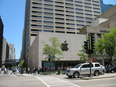 Magnificent Mile, Apple Store