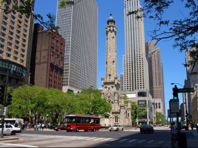 Magnificent Mile, Water Tower