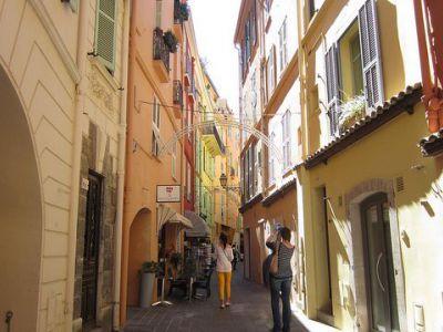 Monaco Ville Walk Monte Carlo Monaco