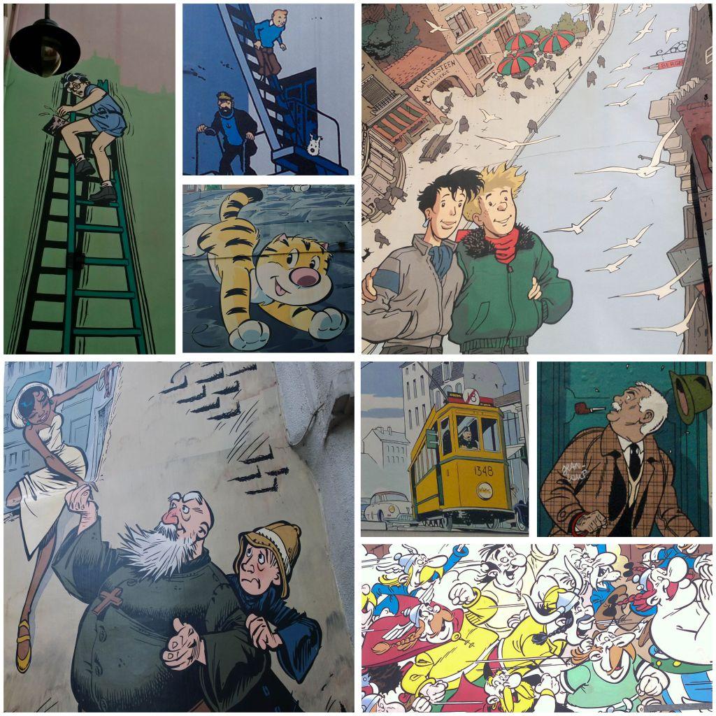 Comic Book Mural Hunt