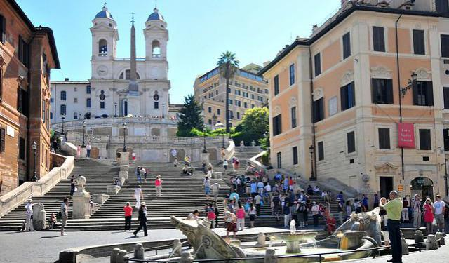 Trevi and Colonna Walk