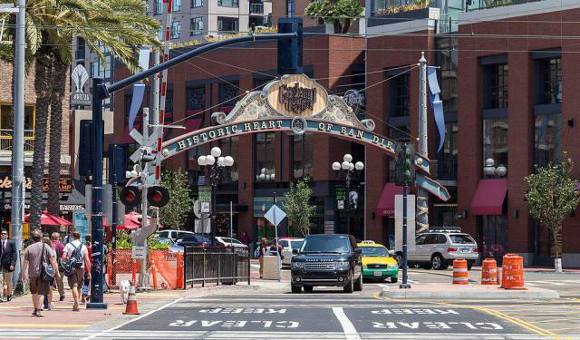 Walking Tour San Diego Gaslamp