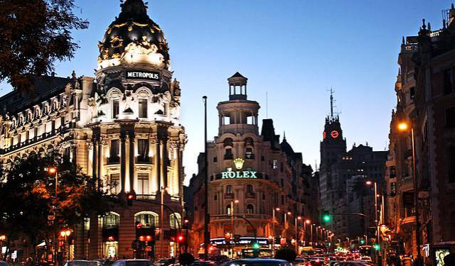 Gran Via and Sol Nightlife