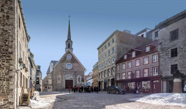 Self Guided Quebec City Walking Tour