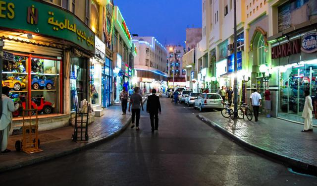 Dubai Nightlife Walk, Dubai