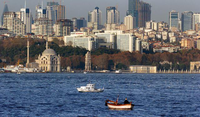 Walking the Bosphorus Coast in Istanbul