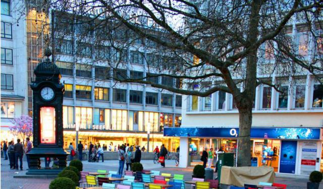 Shopping Areas In Hannover Hannover Germany