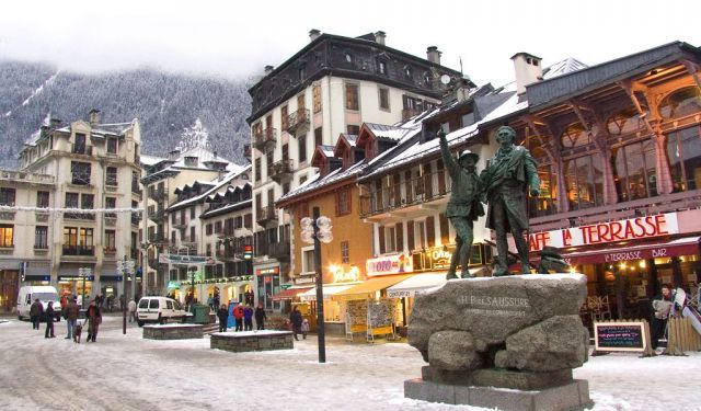 Chamonix Shopping Walking Tour