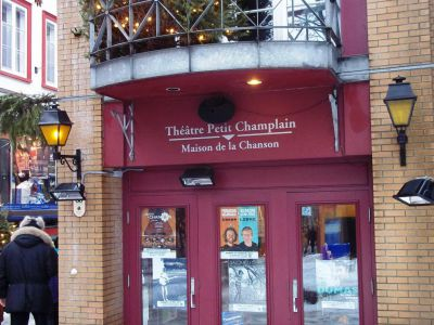 Th tre du petit champlain quebec city for Theatre du petit miroir