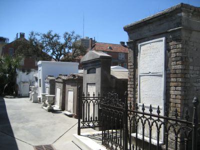 Saint Louis Cemetery #1 and #2