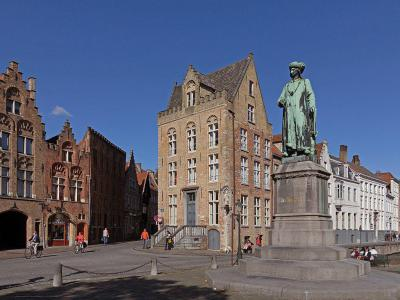 The Statue of Jan Van Eyck