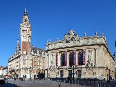 historic architecture walking tour in lille lille france. Black Bedroom Furniture Sets. Home Design Ideas