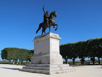 Statue of Louis XIV
