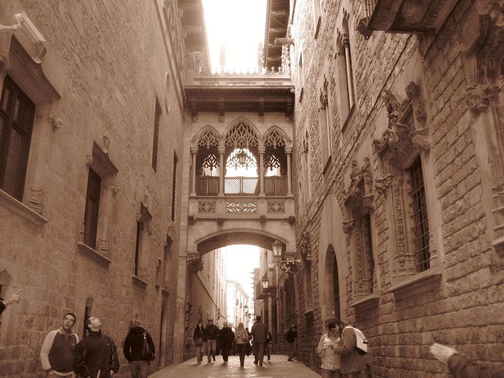 Self Guided Walking Tour Gothic Quarter Barcelona