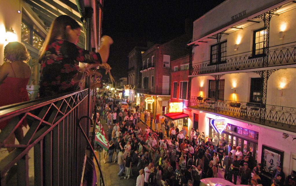 French Quarter Nightlife New Orleans Usa