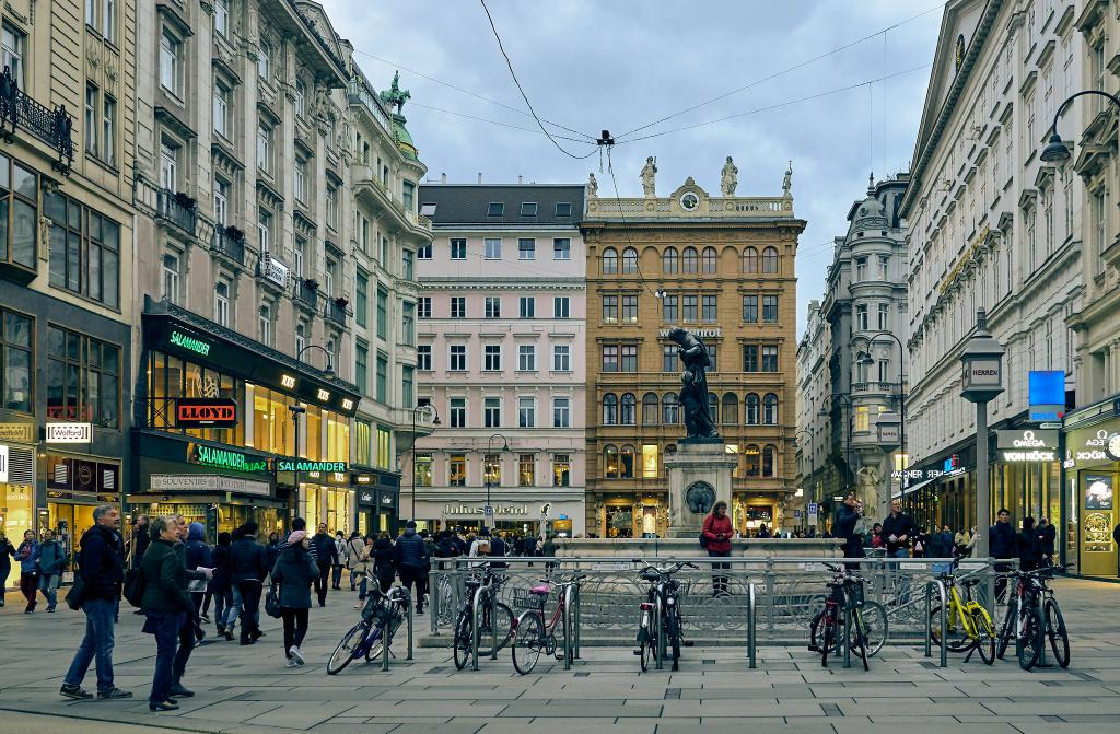 Old Town Center Walking Tour Vienna Austria