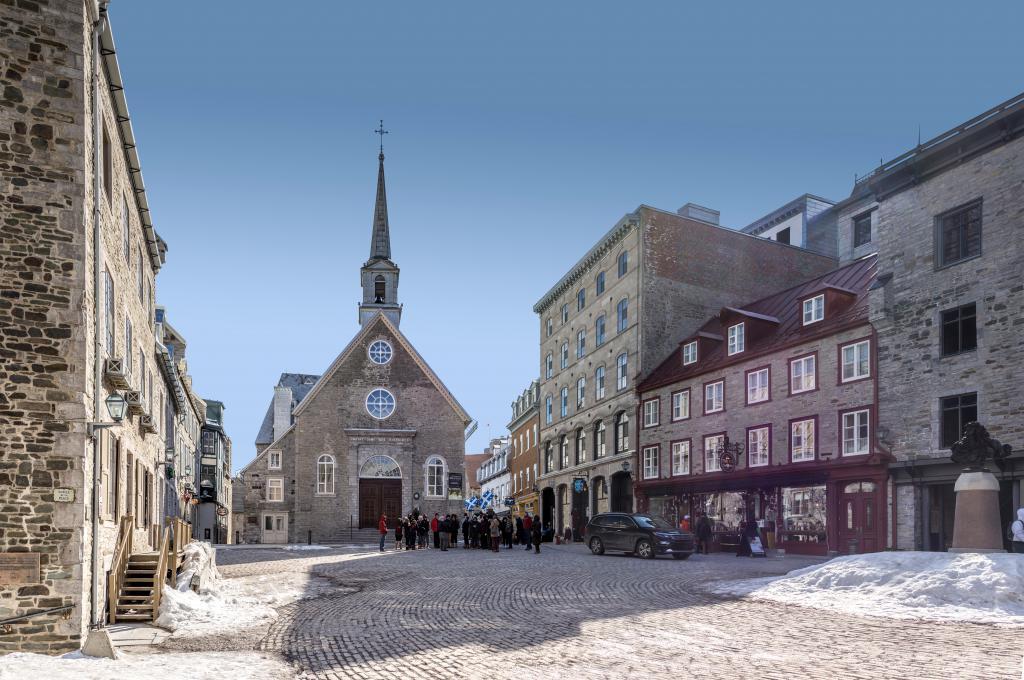 Old Quebec Walk Quebec City Canada