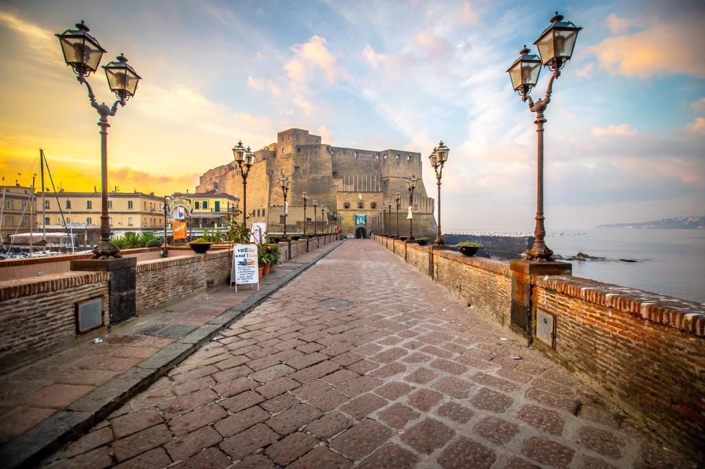 Landmarks Of Naples Walking Tour Naples Italy