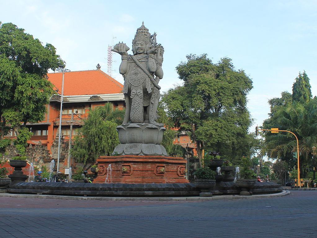 Denpasar Town Walk Denpasar Indonesia