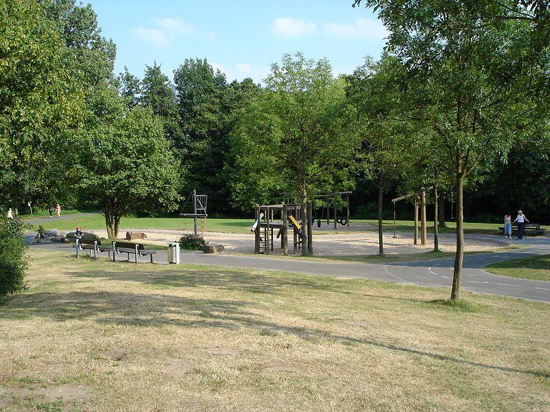 Park Walk In Munster Munster Germany
