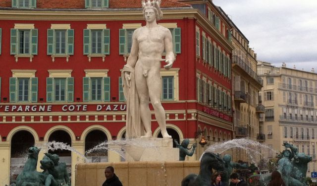 A Greek God Just Can't Get Any Respect in Nice, France