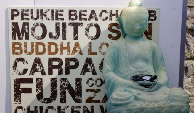 Den Haag's Peukie Beach Club: Where Buddha Meets the Beach