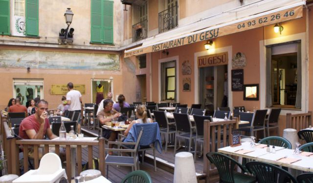 Vegan in Nice, France: Du Gesu Italian Restaurant