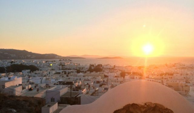 Winding Down in Mykonos