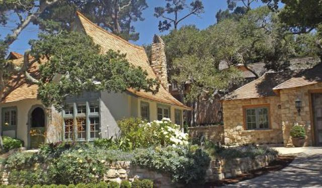 Walk Carmel-by-the-Sea Fairy Tale Homes