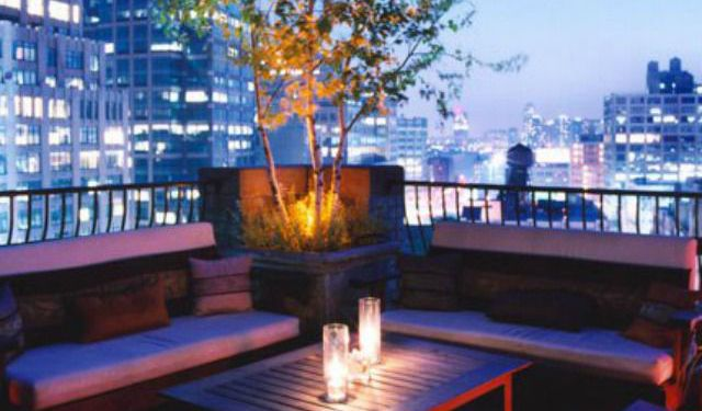 Six Best Rooftop Bars in NYC