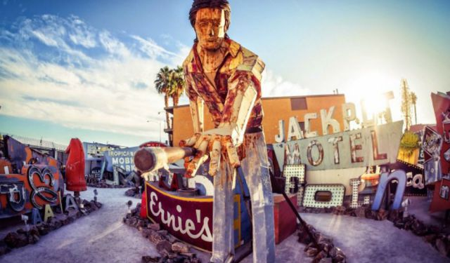 Stepping Back in Time with a Visit to The Neon Boneyard