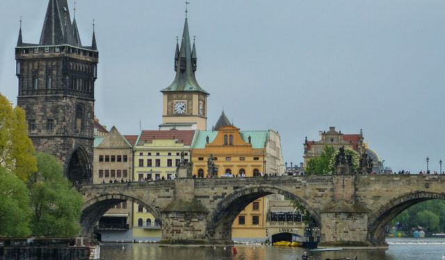 Prague: A Walk Across the Charles Bridge to Lesser Town