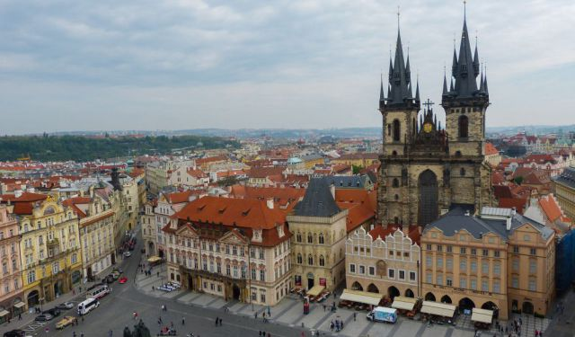 A Walking Tour of Prague: Old Town Square