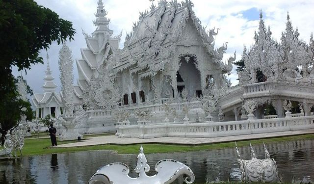 The Weird and the Wonderful of Wat Rong Khun Chiang Rai