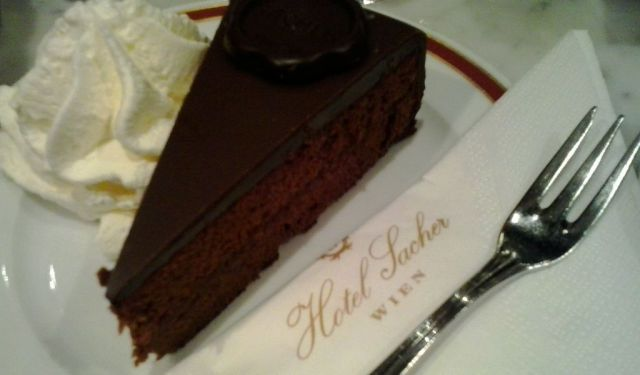 That Time I Had Sacher Cake in Vienna…